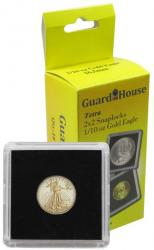 Guardhouse Tetra 2x2 Snaplocks -- 1/10 oz Gold Eagle Size -- Pack of 10