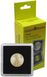 Guardhouse Tetra 2x2 Snaplocks -- 1/4 oz Gold Eagle Size -- Pack of 10