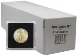 Guardhouse Tetra 2x2 Snaplocks -- 1/2 oz Gold Eagle Size -- Box of 25 -- Box of 25