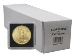 Guardhouse Tetra 2x2 Snaplocks -- $20 Gold Size -- Box of 25 -- Box of 25