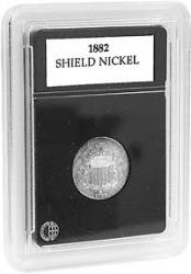 Coin World Premier Coin Holders -- 20.5 mm -- Shield Nickels, $3 Gold
