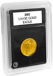 Coin World Premier Coin Holders -- 22.0 mm -- 1/4 oz Gold/Platinum Eagles