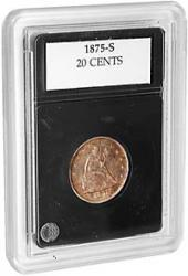 Coin World Premier Coin Holders -- 22.6 mm -- Twenty Cents, Smaller Half Cents