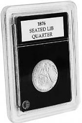 Coin World Premier Coin Holders -- 24.3 mm -- Quarters (1831-Date)