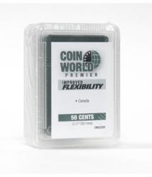 Coin World Premier Coin Holders -- 29.7 mm -- Canada 50 Cents (1870-1967)