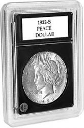 Coin World Premier Coin Holders -- 37.9 mm -- Smaller Peace Dollars