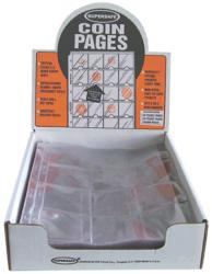 Supersafe Vinyl Pages -- 12 Pocket (2.5x2.5)
