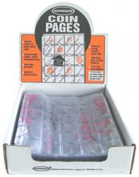 Supersafe Vinyl Pages -- 30 Pocket (1.5x1.5)