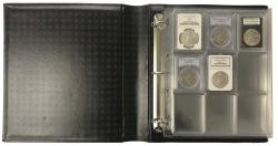 Lighthouse Grande Certified Coin Album (Binder, Slipcase and 4 Slab Pages)