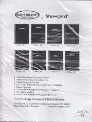 Showgard Supersafe Stock Sheets -- 2 Row