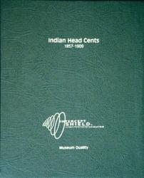 Intercept Shield Album: Indian Head Cents 1857-1909