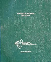 Intercept Shield Album: Jefferson Nickels 2002-Date