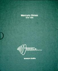 Intercept Shield Album: Mercury Dimes 1916-1945