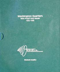 Intercept Shield Album: Washington Quarters 1932-1998