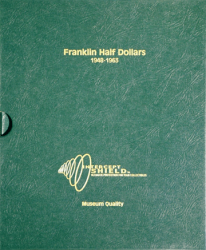 Intercept Shield Album: Franklin Half Dollars 1948-1963