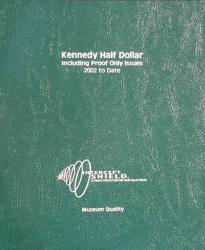 Intercept Shield Album: Kennedy Half Dollars 2002-2011