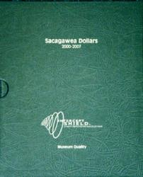 Intercept Shield Album: Sacagawea Dollars 2000-Date (With Proofs)