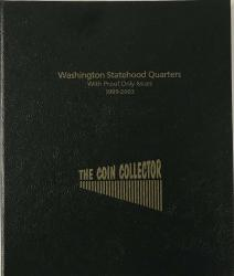 The Coin Collector Album Statehood Quarters w/Proofs 1999-2003