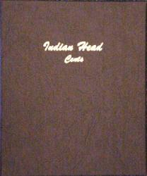 Dansco Album 7101: Indian Head Cents, 1857-1909