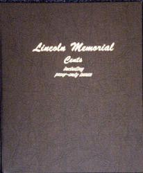 Dansco Album 8102: Lincoln Memorial Cents w/ Proofs, 1959-2009