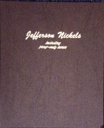 Dansco Album 8113: Jefferson Nickels w/ Proofs, 1938-2005