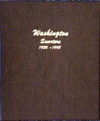 Dansco Album 7140: Washington Quarters, 1932-1998