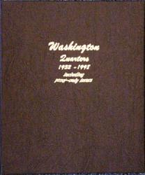 Dansco Album 8140: Washington Quarters w/ Proofs, 1932-1998