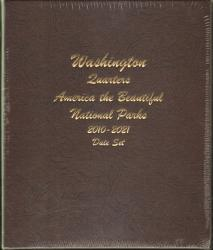 Dansco Album 7148: National Parks Quarters Date Set, 2010-2021