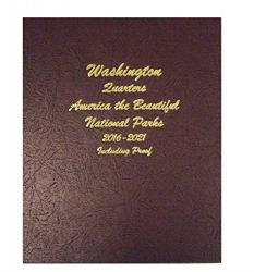 Dansco Album 8147: National Parks Quarters w/ Proofs, 2016-2021