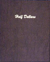 Dansco Album 7157: Half Dollars Plain - 4 Blank Pages / 80 Ports