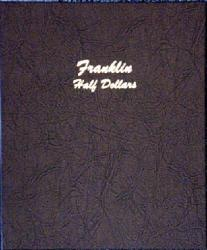 Dansco Album 7165: Franklin Half Dollars 1948-1963