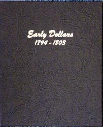 Dansco Album 6170: Early Dollars, 1794-1803