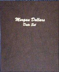 Dansco Album 7171: Morgan Dollars Date Set, 1878-1921