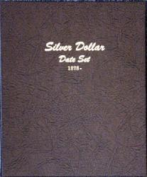 Dansco Album 7172: Silver Dollar Date Set, 1878-1999