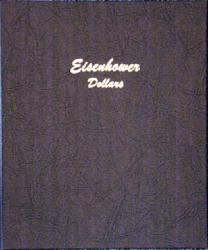 Dansco Album 7176: Eisenhower Dollars, 1971-1978
