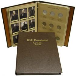 Dansco Album 7186: Presidential Dollars Date Set, 2007-2016