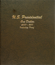 Dansco Album 8184: Presidential Dollars w/ Proofs, 2007-2011