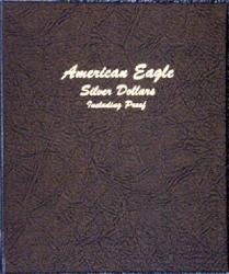 Dansco Album 8181: American Eagle Silver Dollars w/ Proofs, 1986-2006