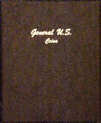 Dansco Album 7080: General US Coins, Plain