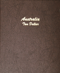 Dansco Album 7340: Australia Two Dollar, 1988-Date