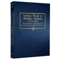 Whitman Album Buffalo Nickels 1913-1938