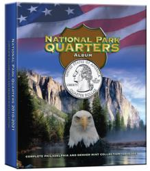 Whitman National Park Quarters Full Color Album P&D Mints