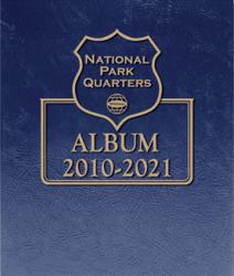 Whitman Album National Parks Quarters - Date Set - 2010-2021