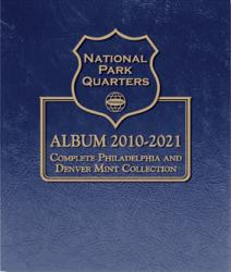 Whitman Album National Parks Quarters - PDS Vol 1 - 2010-2015