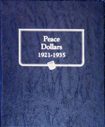 Whitman Album Peace Dollars 1921-1935
