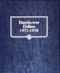 Whitman Album Eisenhower Dollars 1971-1978