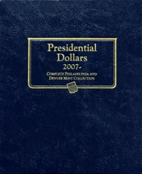 Whitman Album Presidential Dollars P&D 2007-Date