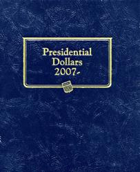 Whitman Album Presidential Dollars Date Set 2007-Date