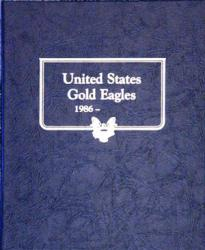 Whitman Album Gold Eagles 1986-Date