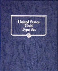Whitman Album U.S. Gold Type Set